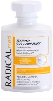 Ideepharm Radical Med Repair champô regenerador para cabelo danificado e quebradiço