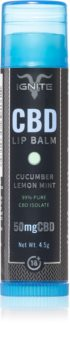 Ignite CBD Cucumber Lemon Mint 50mg Lip Balm