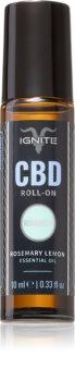 Ignite CBD Rosemary Lemon 1000mg huile essentielle parfumée roll-on