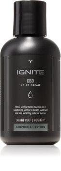 Ignite CBD Camphor & Menthol 500mg crema rilassante per muscoli e articolazioni