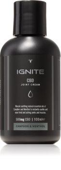 Ignite CBD Camphor & Menthol 500mg crème relaxante  muscles et articulations
