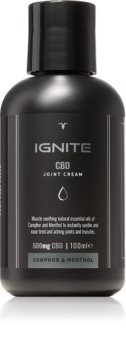 Ignite CBD Camphor & Menthol 500mg Relaxing Cream For Muscles And Joints