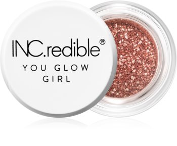 INC.redible You Glow Girl Pigment mit Glitter