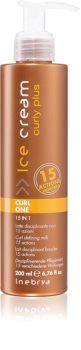 Inebrya Curly Plus Curl One 15 in 1 Styling Melk  Voor Golvend en Krullend Haar