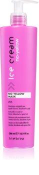 Inebrya No-Yellow haj maszk semlegesíti a sárgás tónusokat