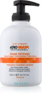 Inebrya Ice Cream KroMask maska za lase za intenzivnost barve las