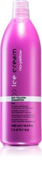 Inebrya No-Yellow Shampoo  neutraliseert gele Tinten