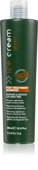 Inebrya Green Deeply Regenerating Shampoo For Damaged And Colored Hair