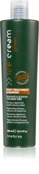 Inebrya Green глубоко восстанавливающий шампунь для окрашенных и поврежденных волос