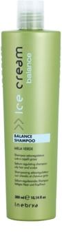 Inebrya Ice Cream Balance șampon pentru reglarea cantitatii de sebum.