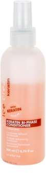 Inebrya Keratin 2 fázisú, öblítést nem igénylő kondicionáló keratinnal