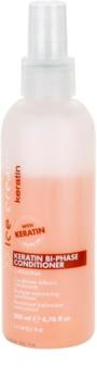 Inebrya Keratin balsam fara clatire in 2 faze cu keratina