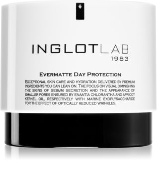 Inglot Lab Evermatte Day Protection матиращ дневен крем