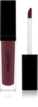 Inglot HD barva na rty s matným efektem