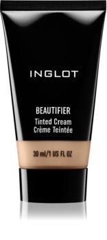 Inglot Beautifier crème teintée légère effet hydratant