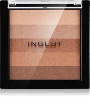 Inglot AMC бронзираща компактна пудра