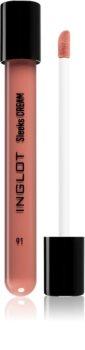 Inglot Sleeks Cream brillant à lèvres crème pour un effet naturel