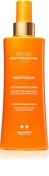 Institut Esthederm Adaptasun Protective Body Lotion Napfény elleni védelem közepes UV védelemmel