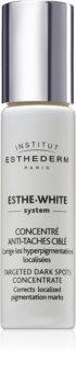 Institut Esthederm Esthe White Targeted Dark Spots Concentrate bleichender Schaum für die lokale Behandlung