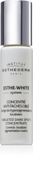 Institut Esthederm Esthe White Targeted Dark Spots Concentrate fehérítő szérum a helyi ápolásért
