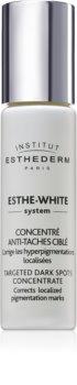 Institut Esthederm Esthe White Targeted Dark Spots Concentrate ser cu efect de albire pentru tratament local