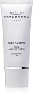 Institut Esthederm Pure System Pure Control Care crème hydratante matifiante