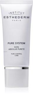 Institut Esthederm Pure System Pure Control Care zmatňujúci krém s hydratačným účinkom