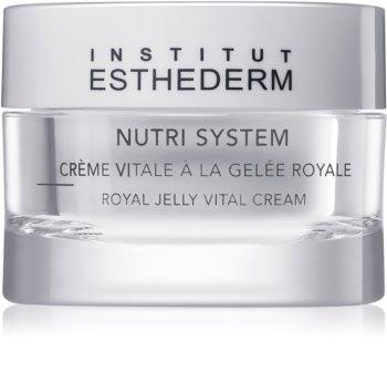 Institut Esthederm Nutri System Royal Jelly Vital Cream výživný krém s mateří kašičkou