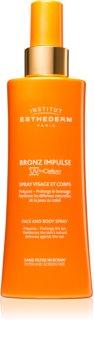 Institut Esthederm Bronz Impulse Body & Face Emulsion im Spray für schnellere und langanhaltende Bräune
