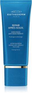 Institut Esthederm After Sun  Repair Firming Anti Wrinkle Face Care Kasvovoide Auringonoton Jälkeen