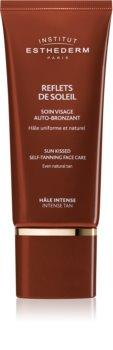 Institut Esthederm Sun Sheen Sun Kissed Self-Tanning Face Care crema autobronzanta pentru fata