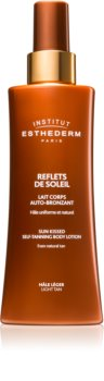Institut Esthederm Sun Sheen Sun Kissed Self-Tanning Body Gel crema autoabbronzante per il corpo