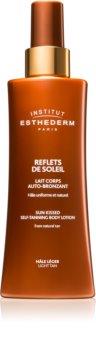 Institut Esthederm Sun Sheen Sun Kissed Self-Tanning Body Gel Self-Tanning Cream for Body