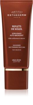 Institut Esthederm Sun Sheen Sun Kissed Self-Tanning Face Care crema autoabbronzante viso