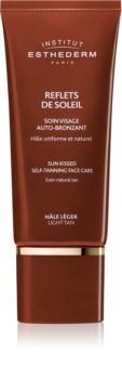 Institut Esthederm Sun Sheen Sun Kissed Self-Tanning Face Care автобронзант крем за лице