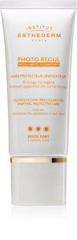Institut Esthederm Photo Regul Pigmentation Irregularities Unifying Protective Care miejscowe leczenie przebarwień skóry z wysoką ochroną UV