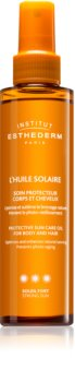 Institut Esthederm Sun Care Protective Sun Care Oil For Body And Hair huile solaire corps et cheveux haute protection solaire