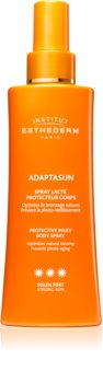 Institut Esthederm Adaptasun Protective Milky Body Spray napozó spray magas UV védelemmel