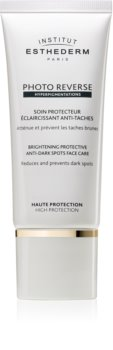 Institut Esthederm Photo Reverse Brightening Protective Anti-Dark Spots Face Care озаряваща защитна грижа против пигментни петна с висока UV защита