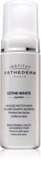 Institut Esthederm Esthe White Brightening Youth Cleansing Foam Cleansing Foam with Whitening Effect