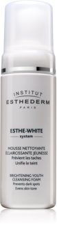 Institut Esthederm Esthe White Brightening Youth Cleansing Foam mousse detergente con effetto sbiancante