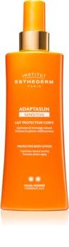 Institut Esthederm Adaptasun Sensitive Protective Body Lotion lait protecteur solaire moyenne protection solaire