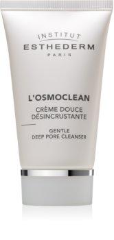 Institut Esthederm Osmoclean Gentle Deep Pore Cleanser crema detergente delicata per pori ostruiti