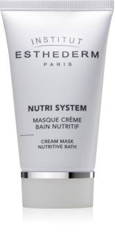 Institut Esthederm Nutri System Cream Mask Nutritive Bath masque crème nourrissante effet rajeunissant
