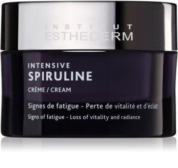 Institut Esthederm Intensive Spiruline Cream vysoce koncentrovaný revitalizační krém k péči o unavenou pleť