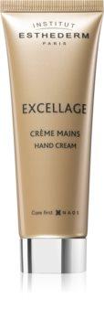 Institut Esthederm Excellage Hand Cream tápláló kézkrém fiatalító hatással