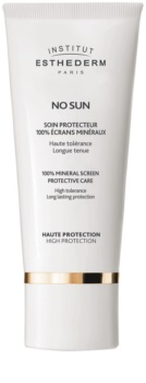 Institut Esthederm No Sun 100% Mineral Screen Protective Care 100% Mineral Cream for Face and Body High Sun Protection