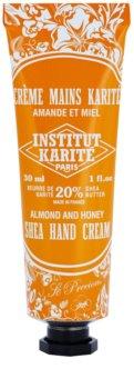 Institut Karité Paris So Precious Almond & Honey creme nutritivo para mãos