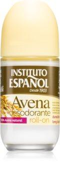 Instituto Español Oatmeal deodorant roll-on