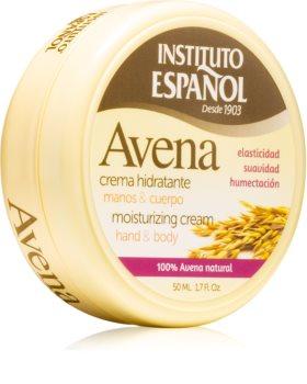 Instituto Español Oatmeal hydratační tělový krém